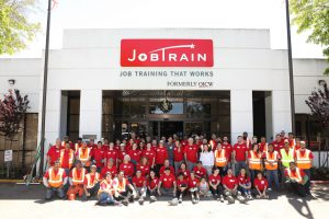 Jobtrain students