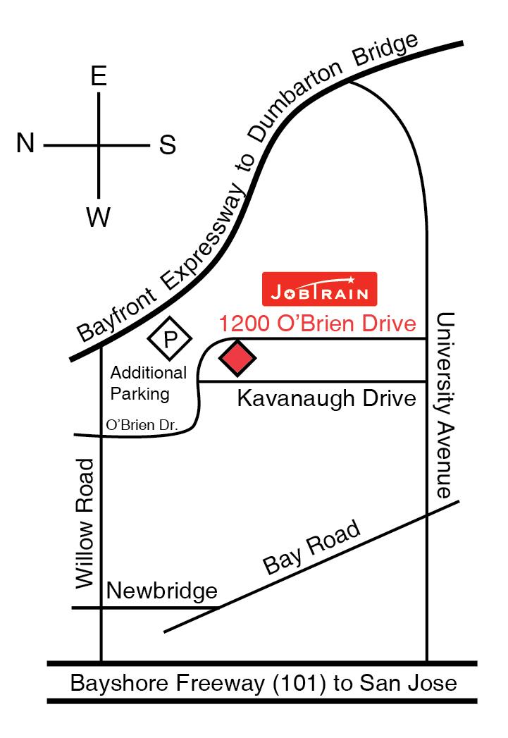 JobTrain Map