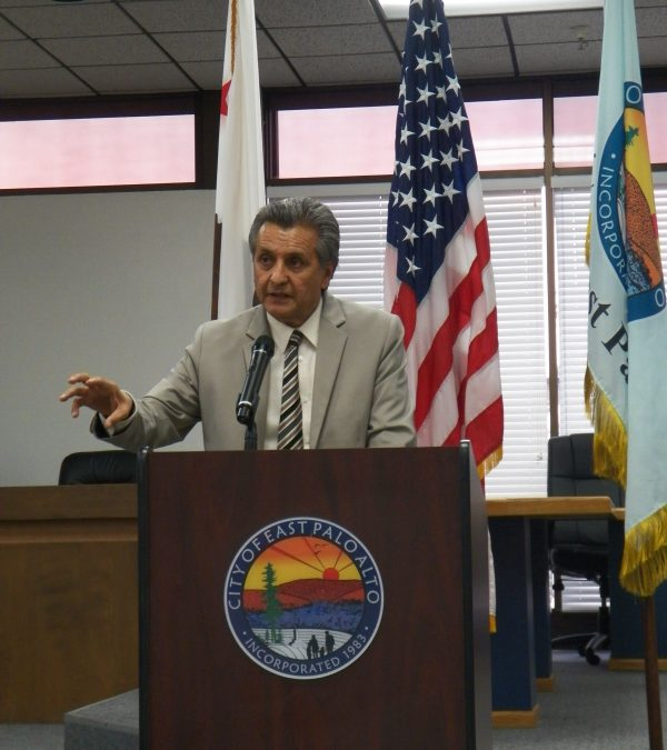 East Palo Alto Mayor Celebrates the City's Milestone
