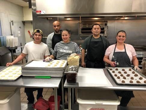 JobTrain Culinary Arts furlough students bake thousands of cookies for county inmates