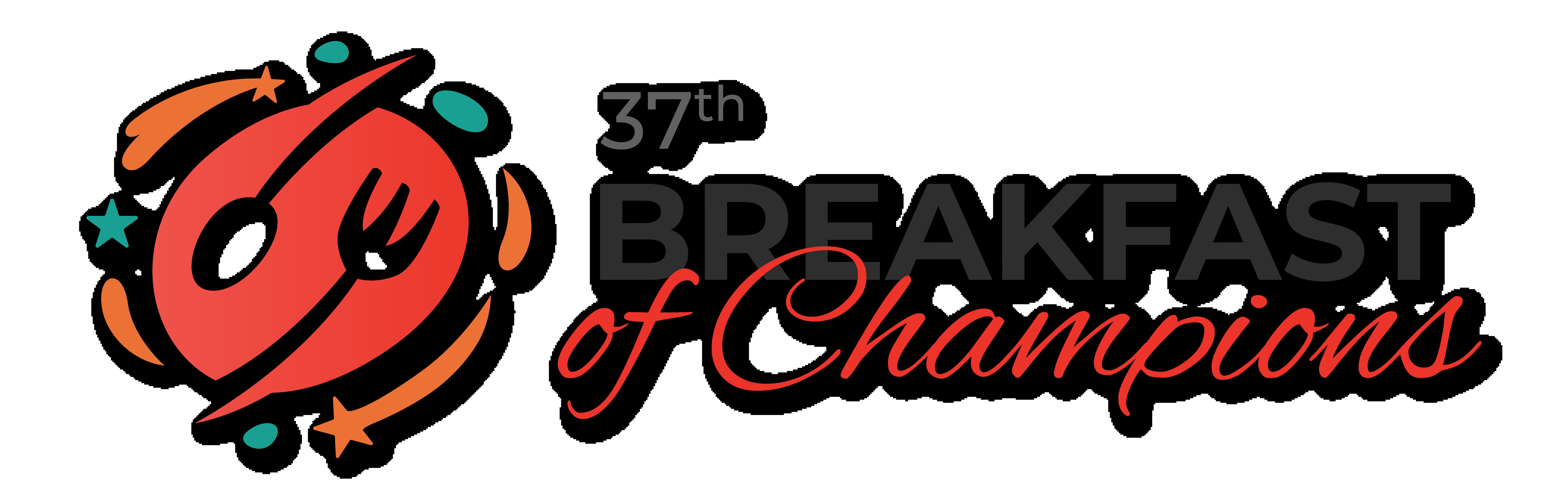 37th annual Breakfast of Champions logo