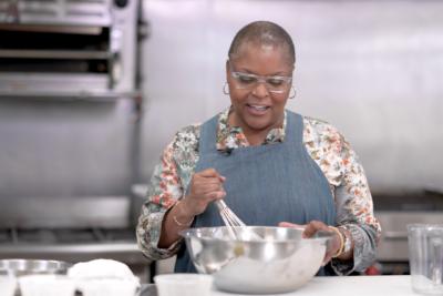 Tanya Holland. Chef & Owner of Brown Sugar Kitchen